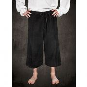 Calf Length Trousers - Black